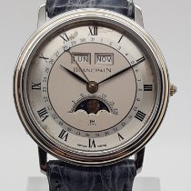 Blancpain Villeret Moonphase occasion 34mm Cuir