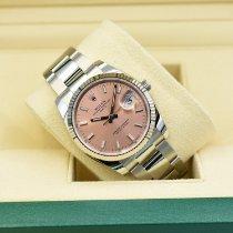 Rolex Oyster Perpetual Date Stahl 34mm Pink Deutschland, Siegburg