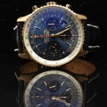 Breitling Navitimer 1 B01 Chronograph 43 Red gold 43mm Blue