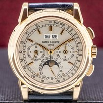 Patek Philippe Perpetual Calendar Chronograph Rose gold 40mm Silver Arabic numerals United States of America, Massachusetts, Boston