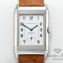 Jaeger-LeCoultre Reverso Duoface Steel 26mm Grey Arabic numerals