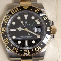 Rolex GMT-Master II Gold/Steel Black No numerals UAE, Abu Dhabi