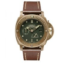Panerai Special Editions PAM00507 Very good Bronze 47mm Automatic