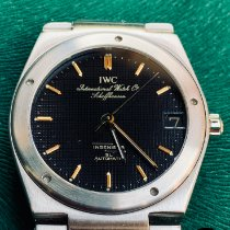IWC Ingenieur Automatic Steel 34mm Black No numerals