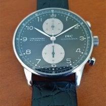 IWC Portuguese Chronograph Ατσάλι 41mm Μαύρο Αραβικοί Ελλάδα, Kalamata