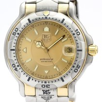 TAG Heuer 6000 Gold/Steel 39mm Gold