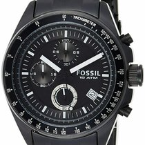 Fossil Steel 44mm Quartz CH2601 new United States of America, New Jersey, Somerset