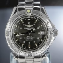 Breitling Colt Automatic Steel 38mm Grey No numerals