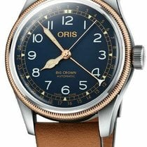 Oris Big Crown Pointer Date Steel 40mm Blue Arabic numerals United States of America, New Jersey, Cherry Hill