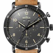 Shinola Acero 45mm Cuarzo S0120089891 nuevo