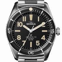 Shinola Steel 42mm Quartz S0120183128 new United States of America, New Jersey, Cherry Hill