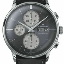 Junghans Meister Chronoscope Steel 40mm Grey United States of America, New Jersey, Cherry Hill