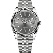 Rolex Steel 41mm Automatic 126334-0014 pre-owned