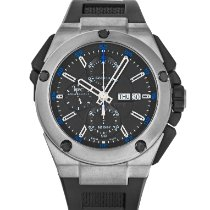 IWC Ingenieur Double Chronograph Titanium Titanium 45mm Black No numerals United States of America, Maryland, Baltimore, MD
