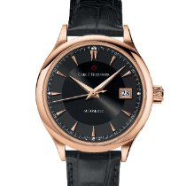 Carl F. Bucherer Manero Rose gold 38mm Black