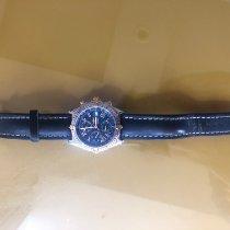 Breitling usado Automático Azul Vidro de safira
