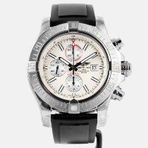 Breitling Super Avenger II Steel Silver United States of America, Massachusetts, Boston