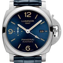 沛納海 Luminor 1950 3 Days GMT Automatic PAM 01033 2020 新的