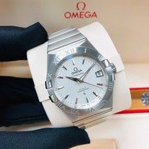 Omega 123.10.38.21.02.003 Steel Constellation Men 38mm new