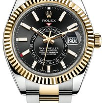 Rolex Sky-Dweller 326933 Nenošené Zlato/Ocel 42mm Automatika