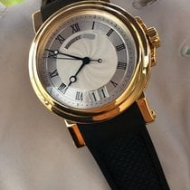 Breguet 5817BA/12/9V8 Yellow gold 2015 Marine 39mm pre-owned