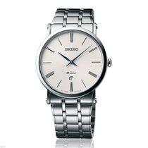 Seiko Premier Automatic Stahl 40mm Weiß