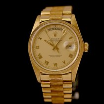 Rolex Day-Date 36 Oro amarillo 36mm Oro Romanos