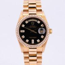 Rolex Day-Date 36 Oro giallo 36mm Nero Senza numeri Italia, Eur (RM)