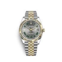 Rolex Datejust Gold/Steel 41mm Grey Roman numerals United States of America, New York, New York