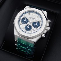 Audemars Piguet Royal Oak Chronograph Steel 38mm Silver No numerals United States of America, New York, New York