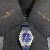 Vacheron Constantin Overseas Steel 41mm Blue No numerals United States of America, New York, New York