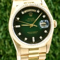 Rolex Day-Date 36 18238 Muy bueno Oro amarillo 36mm Automático