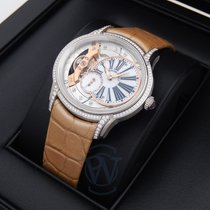 Audemars Piguet White gold Manual winding Mother of pearl Roman numerals 39.5mm pre-owned Millenary Ladies