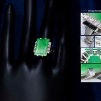 Cartier Platin Grün gebraucht