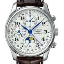Longines Master Collection Steel 40mm Silver Arabic numerals United States of America, California