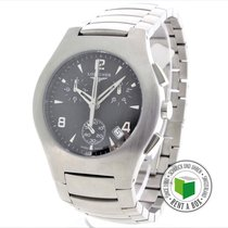 Longines Oposition pre-owned 38mm Steel