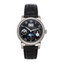 A. Lange & Söhne Langematik Perpetual White gold 38.5mm Black Roman numerals United States of America, Pennsylvania, Bala Cynwyd