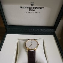 Frederique Constant Slimline pre-owned Leather