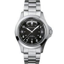 Hamilton Khaki Field King new 2020 Quartz Watch with original box and original papers H64451133