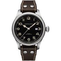 Hamilton Khaki Field Pioneer nuevo Automático Reloj con estuche y documentos originales H60515533