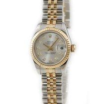 Rolex Lady-Datejust Or jaune Argent