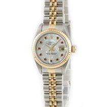 Rolex Lady-Datejust Oro amarillo Blanco