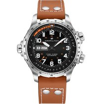 Hamilton Khaki X-Wind Steel 45mm Black United States of America, Massachusetts, Florence