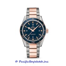 Omega Seamaster 300 Rose gold 41mm Blue Arabic numerals