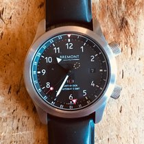 Bremont Steel Automatic Black Arabic numerals 43mm pre-owned MB