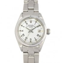 Rolex Oyster Perpetual Lady Date Stahl