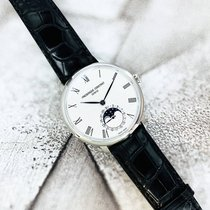 Frederique Constant Manufacture Slimline Moonphase Acier 42mm Blanc France, Marseille