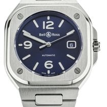 Bell & Ross BR 05 Steel 40mm Blue United States of America, Illinois, BUFFALO GROVE