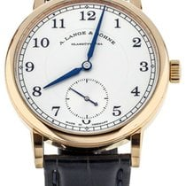 A. Lange & Söhne 1815 pre-owned 38.5mm Silver Crocodile skin