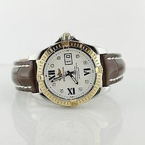 Breitling Cockpit Gold/Steel 40mm White United States of America, Illinois, BUFFALO GROVE